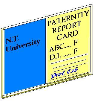 paternity report card, carnell smith pfv, paternity